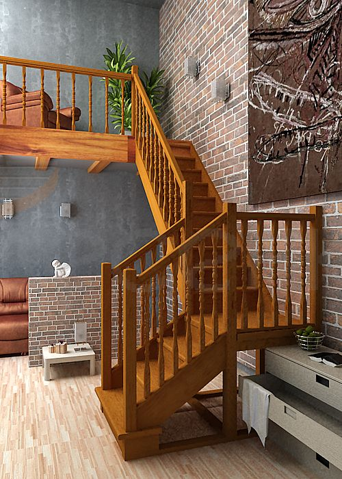 Деревянные лестницы фото и цены